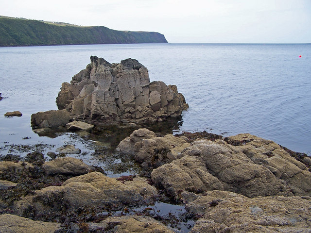 Remains of a sea stack