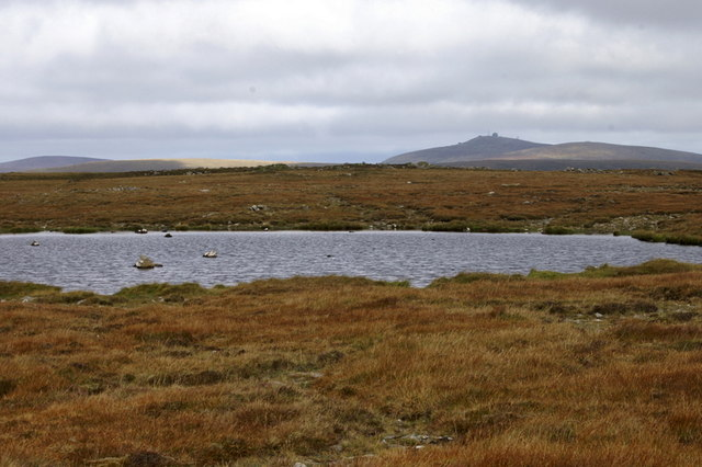Lochan on Hill of Colvadale