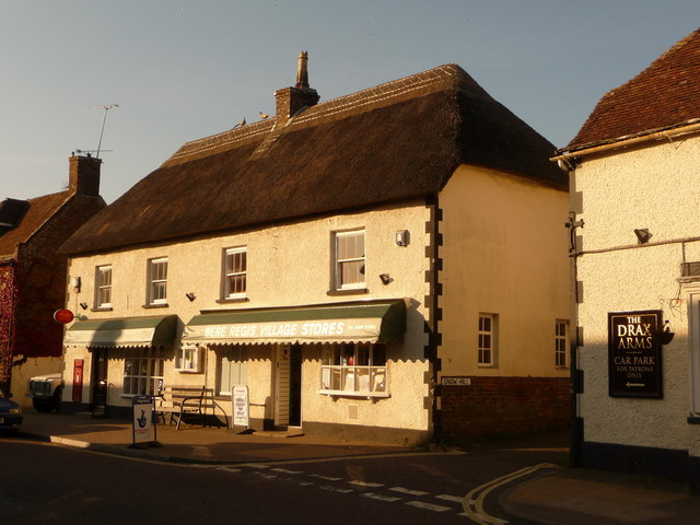 Bere Regis: village stores and post office