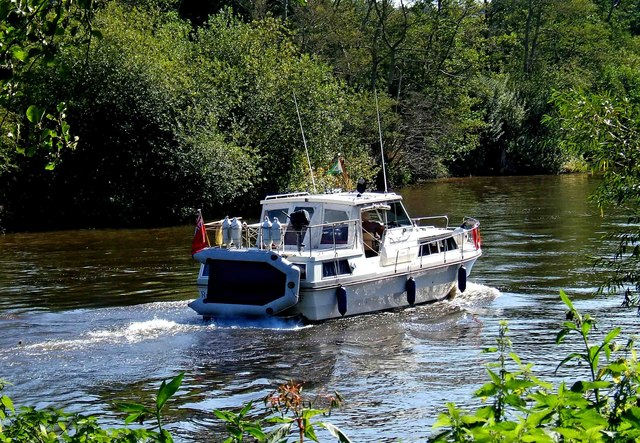Boat on the River Severn