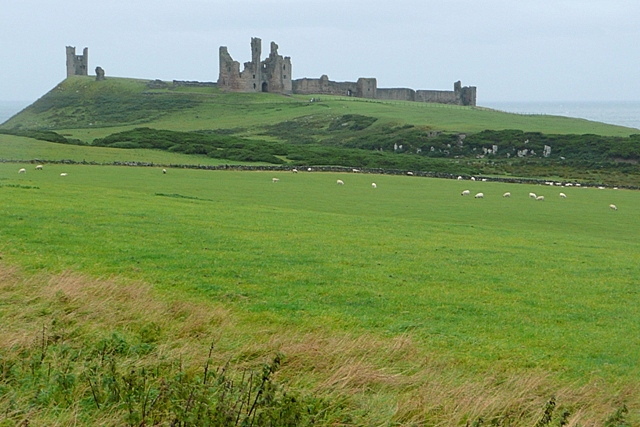 Towards Dunstanburgh Castle