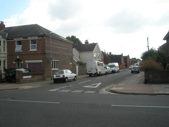 Looking from Kirby Road across to Crofton Road