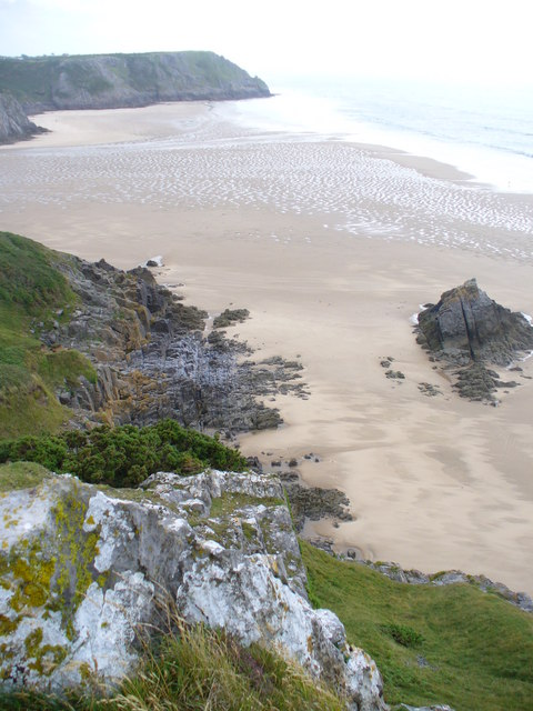 Sands at Three Cliffs Bay