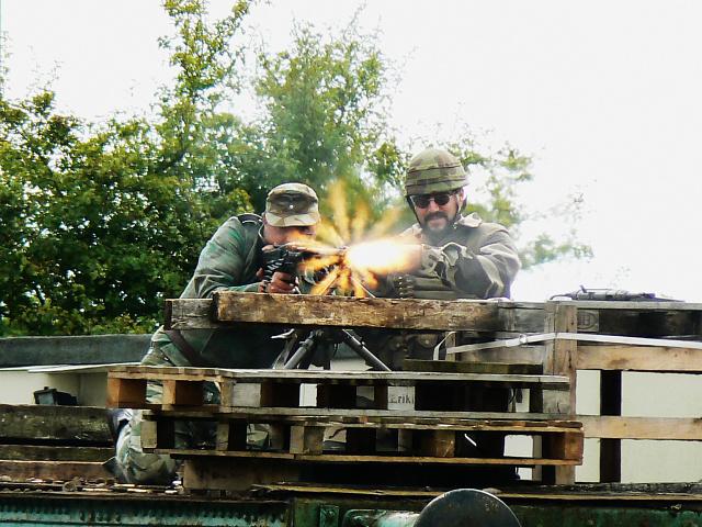 Wartime Weekend 2009 (1), Blunsdon Station