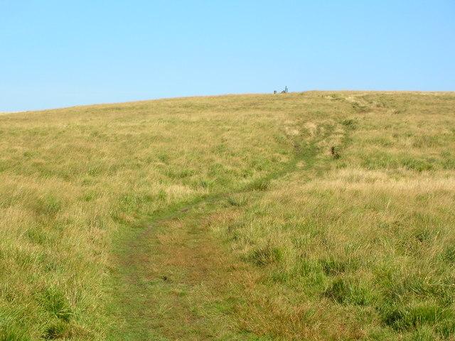 Oldham Way on Castleshaw Moor