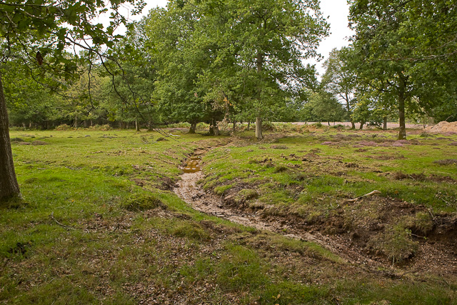 Warwickslade cutting: new meander takes shape