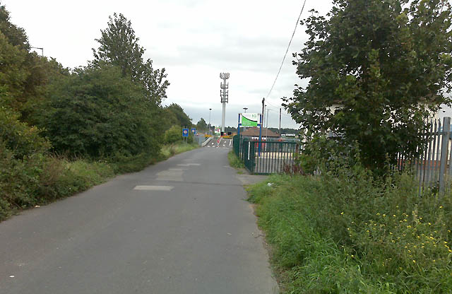 Entry to the Beeston Waste Disposal Site