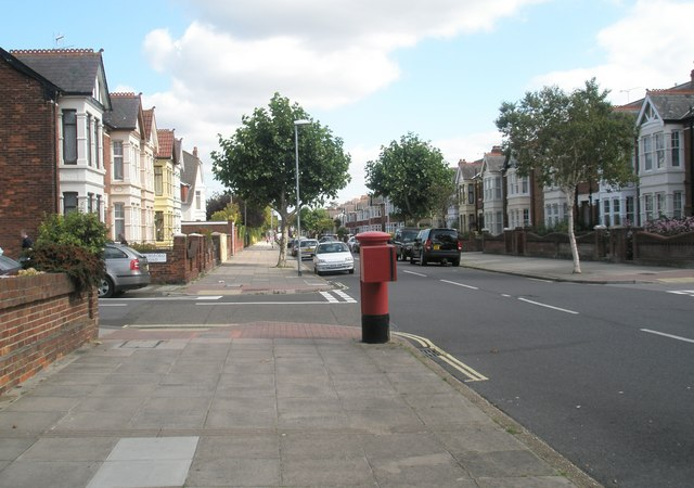 Postbox in Kirby Road