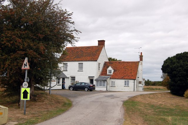 The former Kings Head, Courtsend, Foulness
