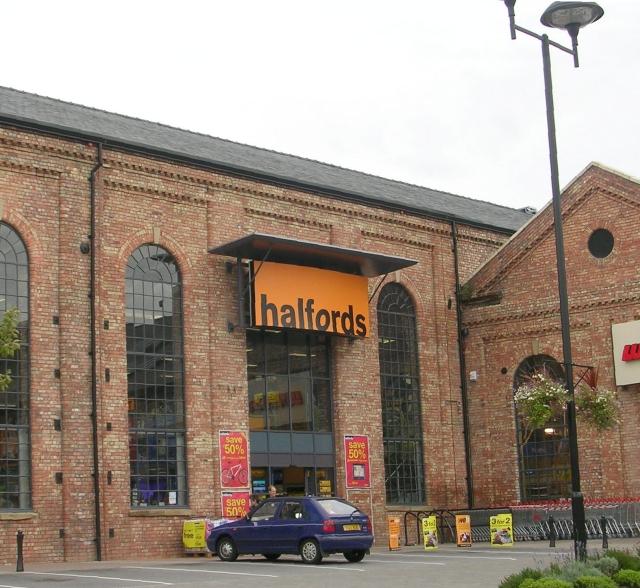 Halfords - Marshall's Yard