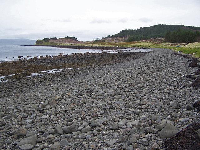 Beach at Loch Losait