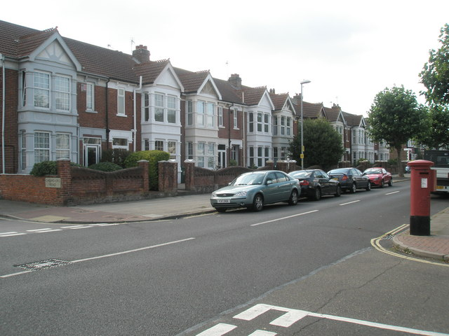 Looking from Chelmsford Road into Kirby Road
