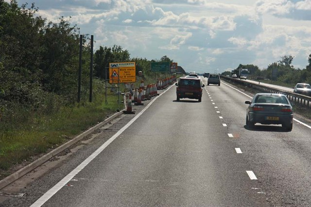 Road Works on A14