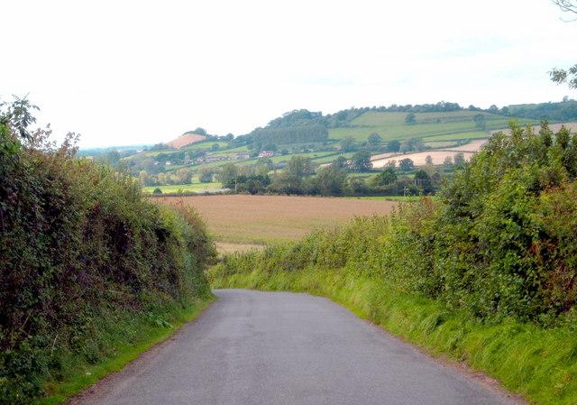 Descending Broad Hill