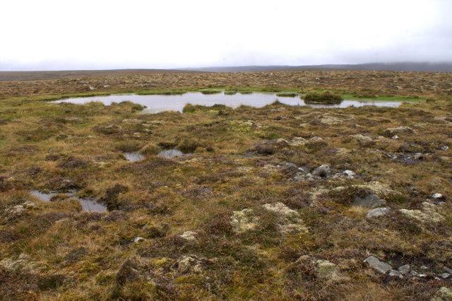 Small lochan on Virda Field
