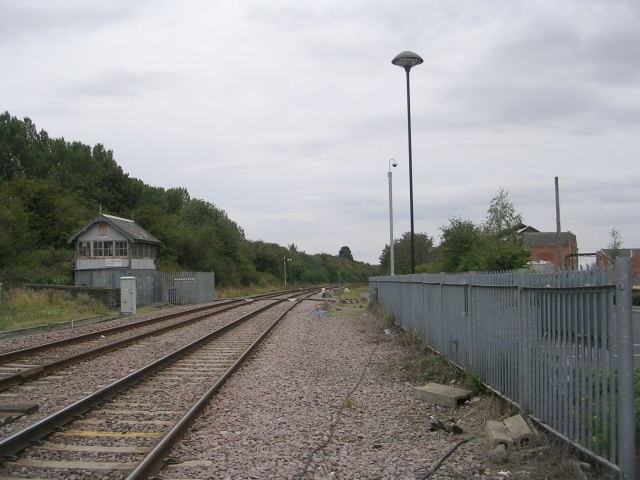 Railway lines from Gainsborough Central Station
