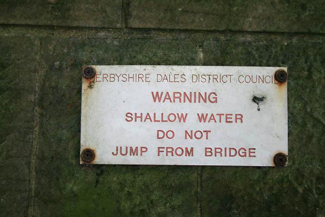 Warning Shallow Water