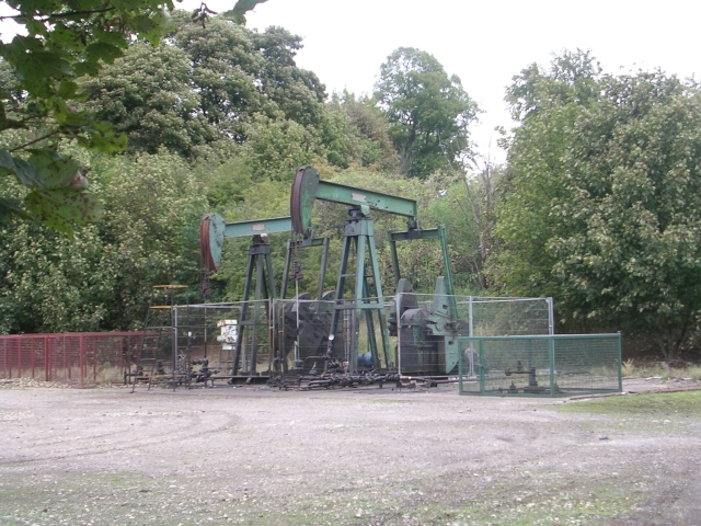 Oil Wells near Gainsborough Central Station
