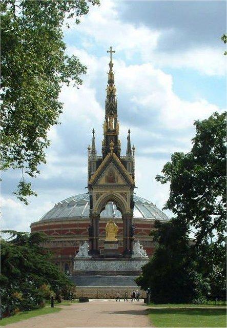 The Albert Memorial and Albert Hall