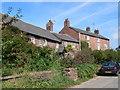 SJ3273 : Puddington cottages by Eirian Evans