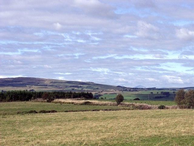 Cumbernauld, empty fields near Kilt