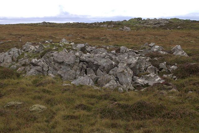 Rocky outcrop on Hill of Colvadale