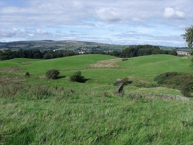 Cumbernauld, three drumlins