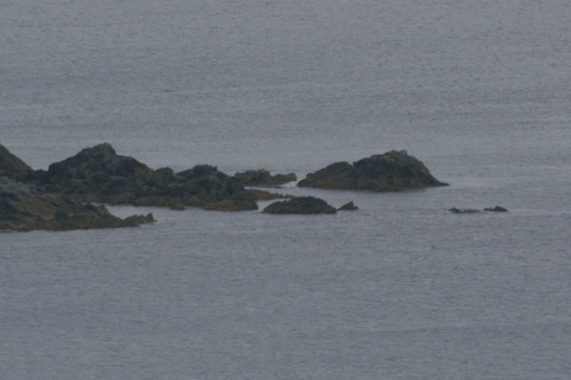 Lanca Skerry from Hill of Colvadale