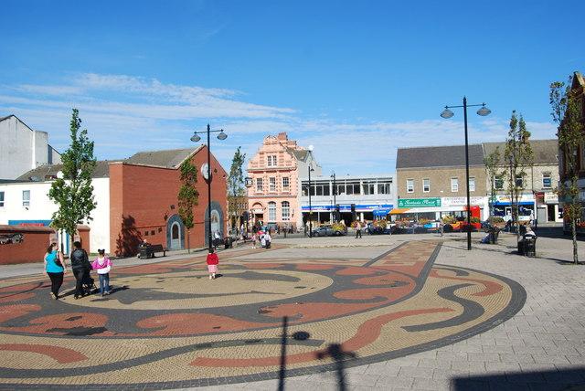 Hadrian Square, Shields Rd, Byker