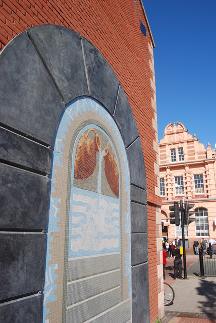 Mosaic, Hadrian Square, Byker