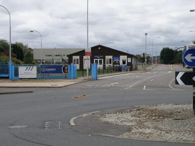 Factory Entrance, Morley Way, Woodston