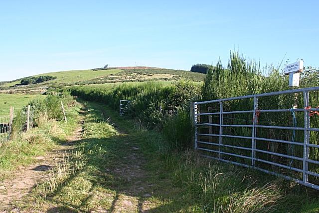 Blelack or Brelack Hill?