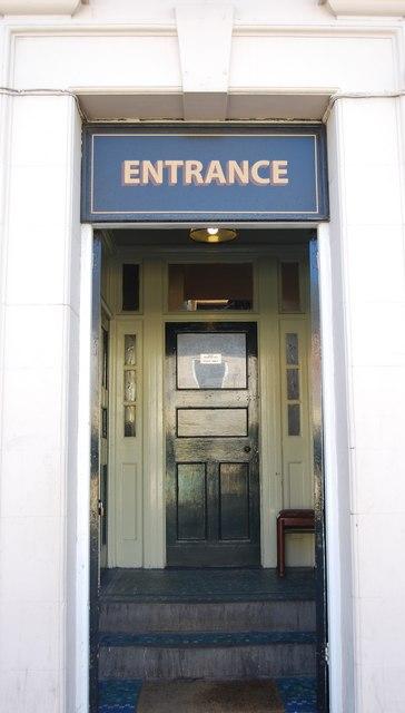 Entrance to The Grace Inn, Shields Rd, Byker
