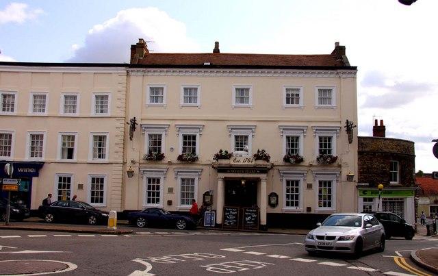 The White Hart Hotel in Buckingham