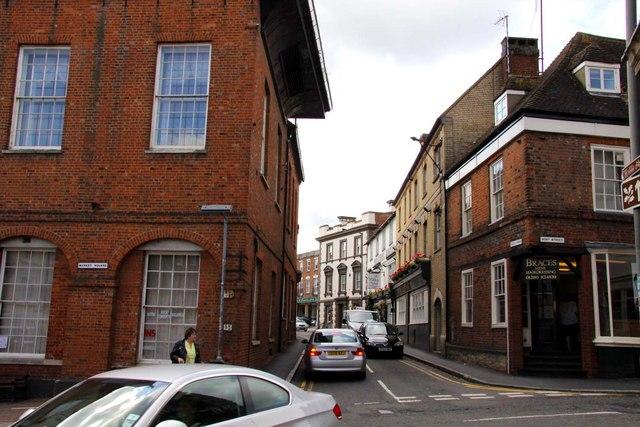 Castle Street in Buckingham