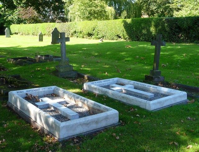 The grave of Sir Nigel Gresley