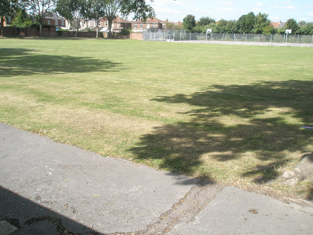 Playing fields within Mayfield School