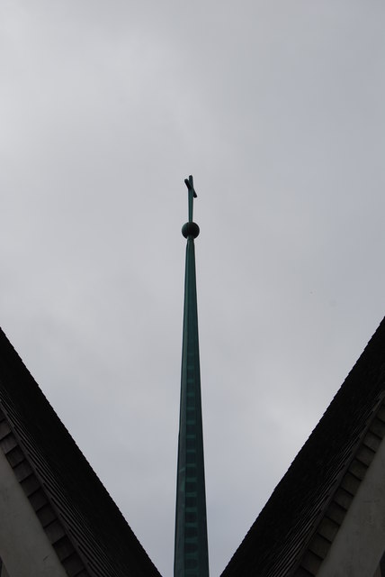 Spire, St Teresa's Church, Heaton Rd, Newcastle Upon Tyne