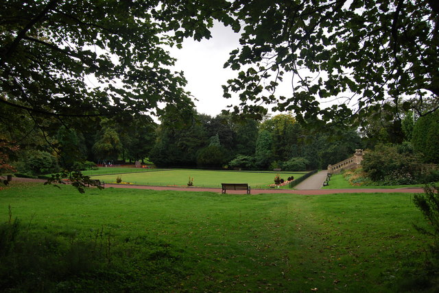 Bowling Green, Heaton Park, Newcastle upon Tyne