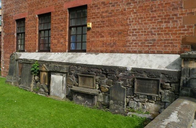 Glasgow merchants gravestones