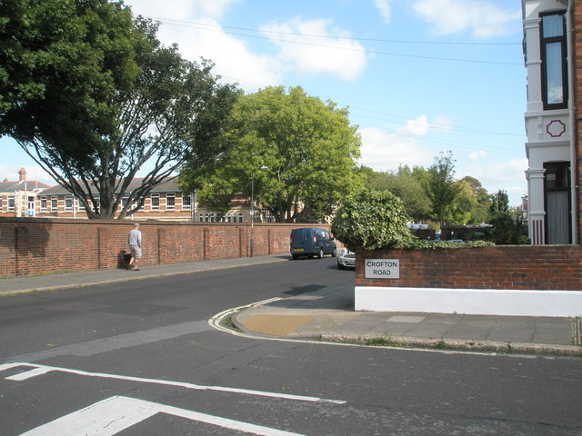 Junction of Mayfield Road and Crofton Road