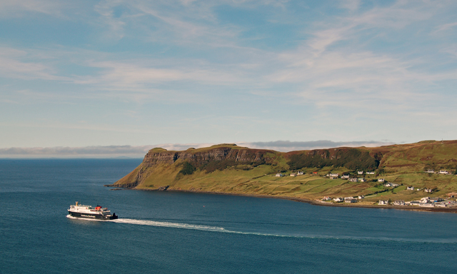 Leaving Uig