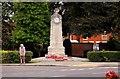 SP9235 : Woburn Sands War Memorial by Steve Daniels