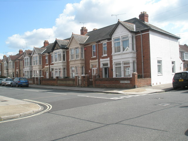 Junction of  Randolph Road and Madeira Road