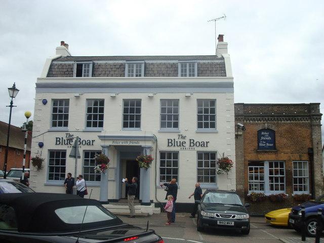 The Blue Boar public house, Abridge