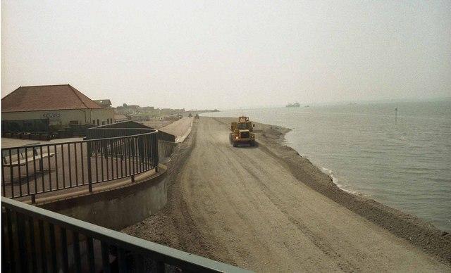 A little bit of coastal engineering at Lee Beach (2)