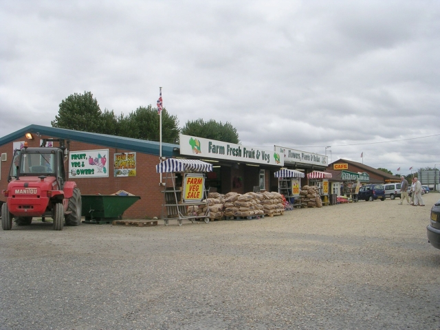 Farm Shop on A17 - Holbeach