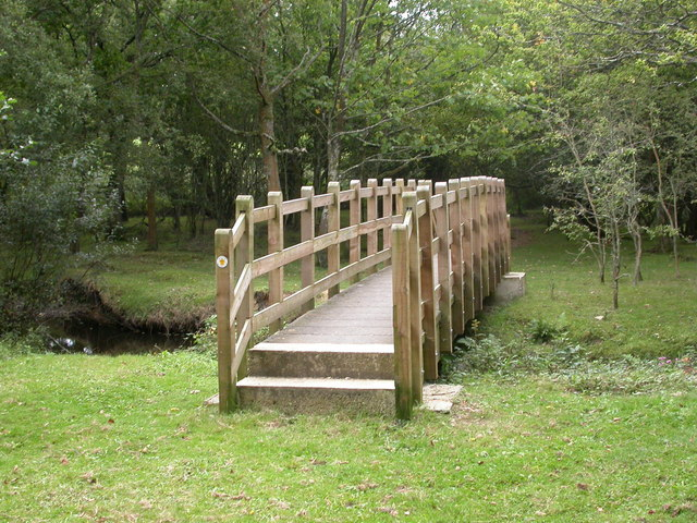 South Gorley, footbridge