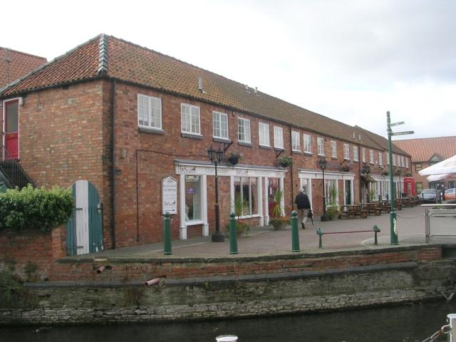 Former Carriage Works - Sleaford Navigation