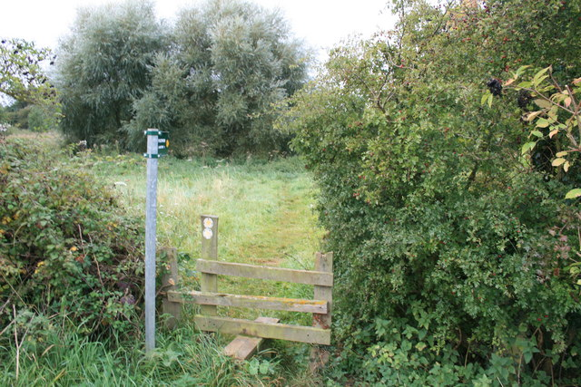Footpath to Langford
